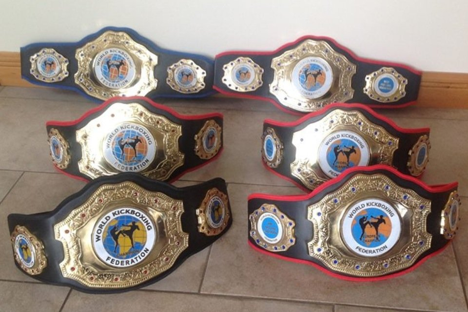 WKF belts UK
